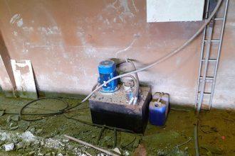 Quai  à grume avec chargeur hydraulique Artiglio